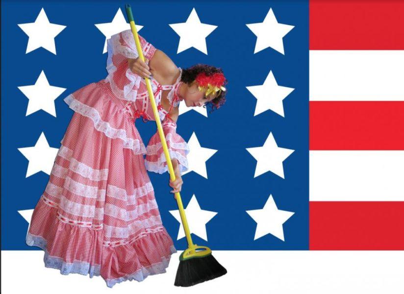 Carolina Mayorga Maid in the USA, 2012-17 Video and performance art